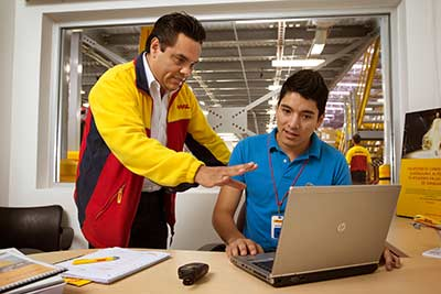 DHL Express Tracking Copyrights by DHL
