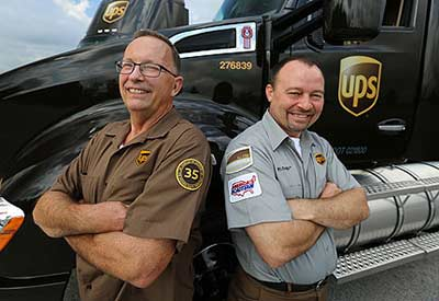 UPS Shipments - Copyright by UPS