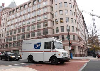 USPS Schipments - Copyright by USPS